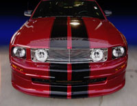 2005-2009 Mustang V6 Chromed ABS Grille