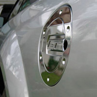 05+ Mustang | Cobra Billet Fuel Door