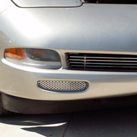 C5 Perforated StainlessFront Brake Vent Grilles