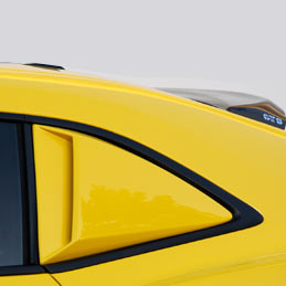 2010-13 Camaro Window Scoop Kit