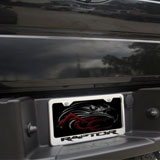 Ford Raptor Tag Frame Chrome/Brushed - 2010-2014