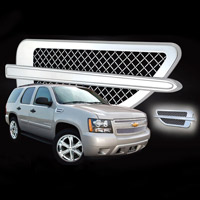 2007-08 Avalanche Chrome Stainless Steel Mesh Fender Vents