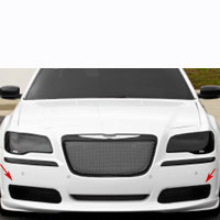 Chrysler 300 Driving Fog Light Cover 2pc - 11-13