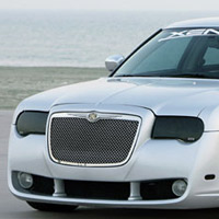 Chrysler 300 & 300C GT Syling Smoke Headlight Covers - 05-09