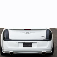 Chrysler 300 Taillight Covers 2pc Smoke - 05-13