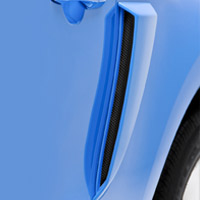 2010-2013 Mustang 3D Carbon Quarter Panel Scoops