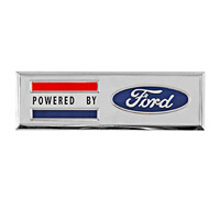 """Powered by Ford"" Emblem"