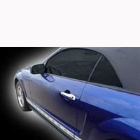 Mustang 2 pc ABS Chromed Door Handle Covers - 05-13