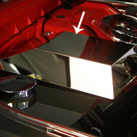 Challenger SRT 8 or 5.7 Stainless Fuse Box Cover - 08-14