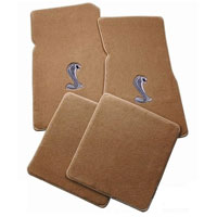 Lloyd Mats Parchment 4pc. Floor Mats with Logos - 86-93