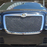 Chrysler 300C & 300 Chrome Bentley Style Mesh ABS Grille - 05-10