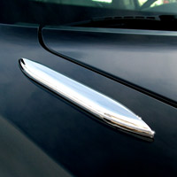 Mustang Aeroblades Chrome Trim (2 pack) - 86-93