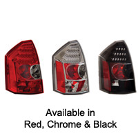 Chrysler 300C & 300 ANZO LED Taillights - 05-07