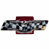 Camaro Custom Painted Front & Back Grille Bowties - 93-02 & 2010