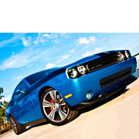 Challenger 5.7/SRT 8 Black Shark Tooth Grille Lower - 11-13