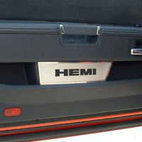 Challenger Door Badge Plates Brushed R/T, HEMI or SRT8 - 08-14