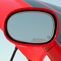 "Challenger 2pc Side Mirror Trim ""425HP"" - 08-10"