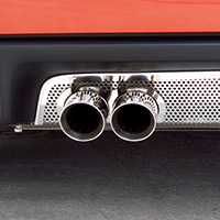 C5 Perforated Stainless Exhaust Port Filler Panel