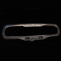 1997-2004 Corvette Style Rear View Mirror Trim