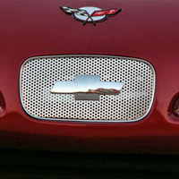 C5 Perforated Stainless Front Nose Insert