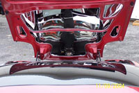 C5 Corvette 5-pc Stainless Hood Panels