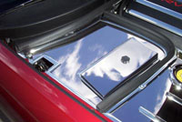 C5 Corvette Stainless or Perforated Battery/Fuse Box Cover