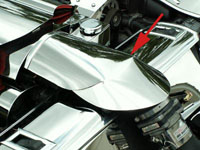 Corvette C5 Factory Air Bridge Cover