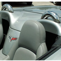 05-10 C6 Polished Stainless Convertible Dress-up Hoops