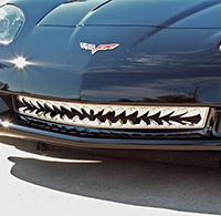 C6 Stainless Shark Tooth Grille