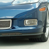 2 pc Diamond Laser Mesh Driving Light Covers - 2006-2012