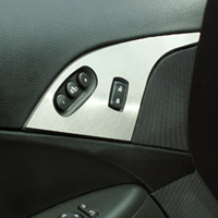 Corvette C6 Brushed Door Lock Trim