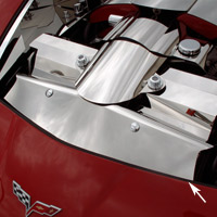 C6 Air Filter Box Cover