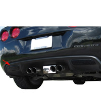 C6 Acrylic Reverse Light Blackout Kit - 05-09