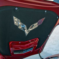 C7 Hood Badge Emblem for Factory Pad - 2014