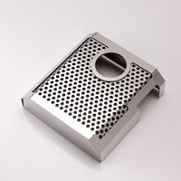 C7 Brake Master Cylinder Cover Perforated/Polished/Brushed-2014