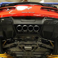Corvette C7 Rear Diffuser without Under-Tray - 2014+