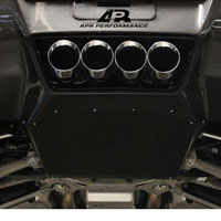 Corvette C7 Rear Diffuser with Under-Tray - 2014+