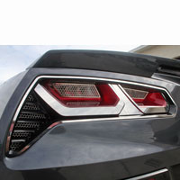 Corvette C7 8pc Taillight Trim Kit - 2014+