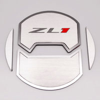 "Camaro 8pc A/C Vent Duct Covers Deluxe ""ZL1"" Round Outer - 10-13"