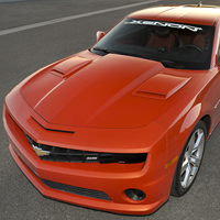Camaro Hood Scoops - 2010
