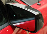 Carbon Fiber Mirror with Lens - Mustang 05+