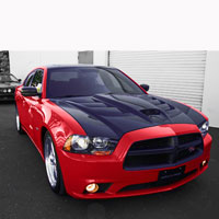 Charger Black Ops Autoworks Sniper Hood - 11 & Up