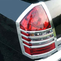 Chrysler 300 & 300C Chrome Taillight Bezel Trim - 05-07