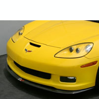 C6 Z06 & Grand Sport Corvette Front Air Dam - 05 & Up