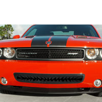 Challenger 5.7/SRT 8 Black Shark Tooth Grille Lower - 08-10