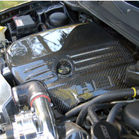 Charger Carbon Fiber 5.7 Engine Cover - 06-10