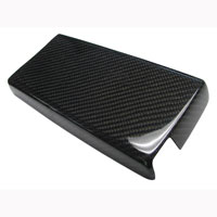 Mustang Fiberglass or Carbon Fiber Fuse Box Cover - 05-09