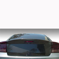 Charger Carbon Fiber PVO Molded Deck Lid - 06-10