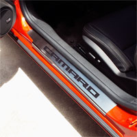 Camaro 2pc Doorsills Executive Series w/ CAMARO Inlay - 10-13