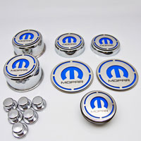 "Challenger 13pc ""MOPAR"" Deluxe Cap Cover Set w/Shock Tower Cover"